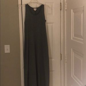 Dani Maxi Dress, heather grey